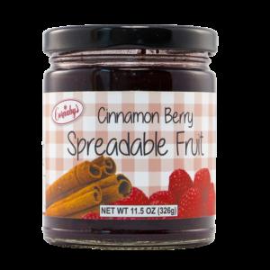 Cinnamon Berry Spice Spreadable Fruit
