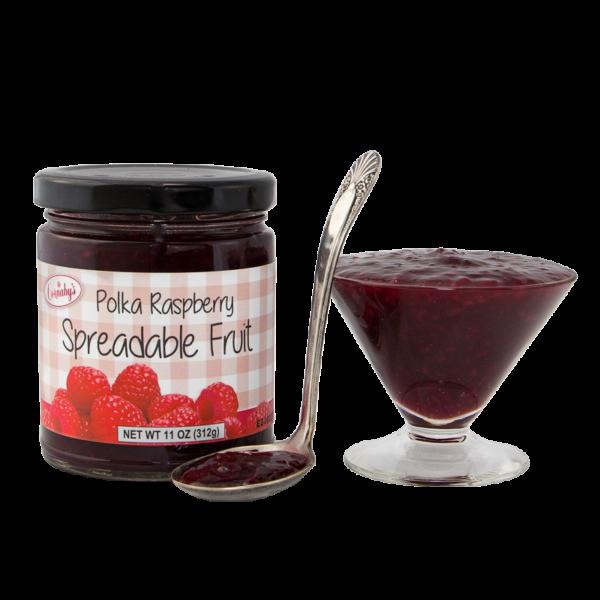 Polka Raspberry Spreadable Fruit