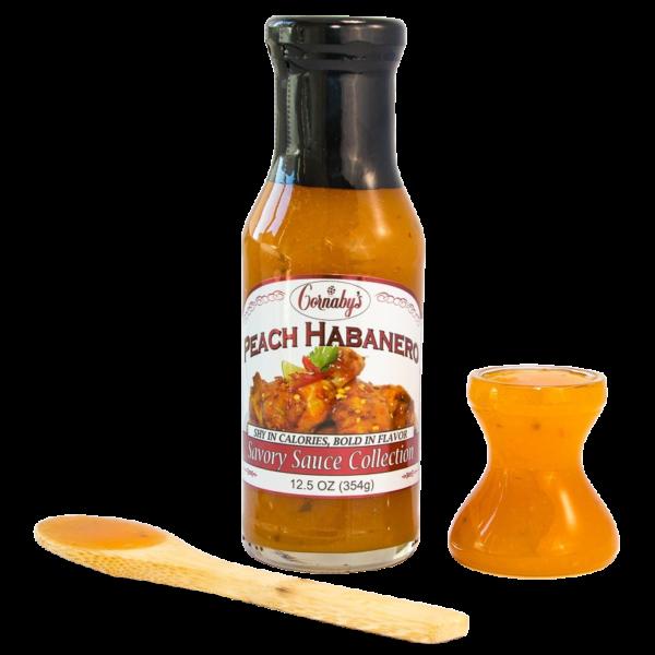 Savory Sauce Peach Habanero