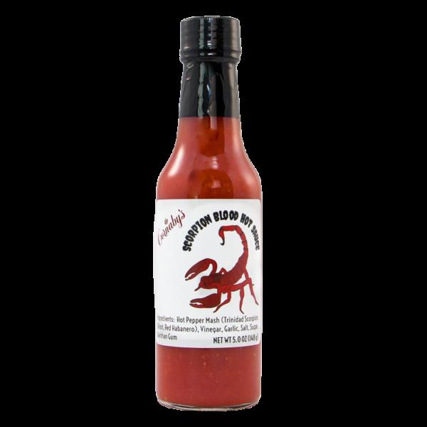 Scorpion Blood Fiery Hot Sauce
