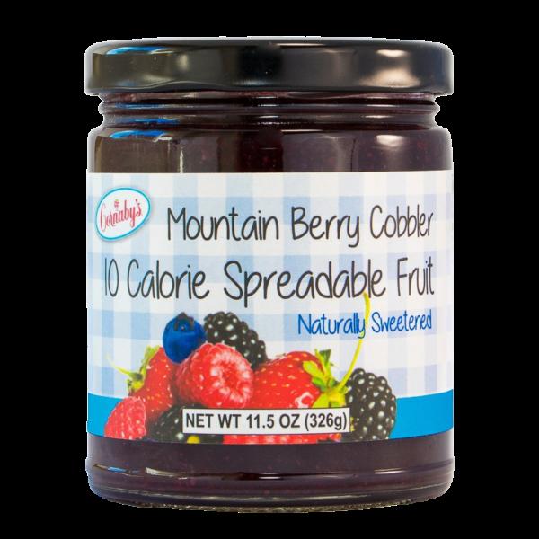 Sugar-Free Mountain Berry Cobbler Spreadable Fruit