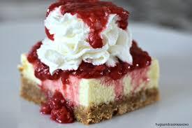 Rasp. Cheesecake bar